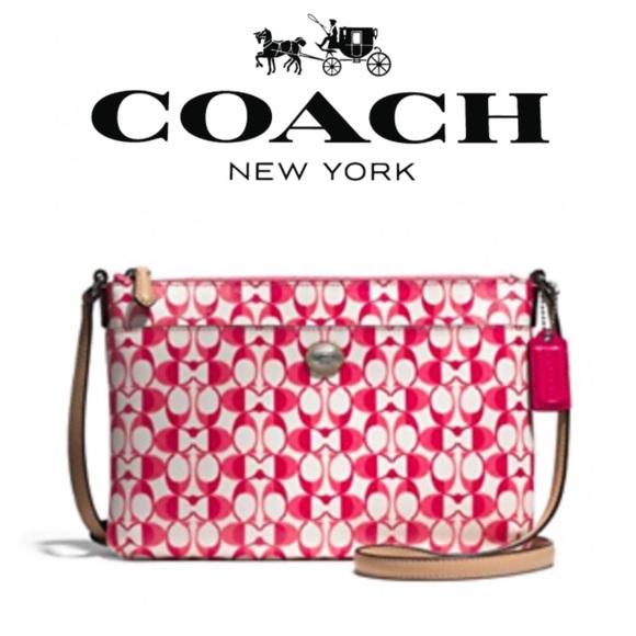 Coach Peyton Dream C Signature EW Swingpack